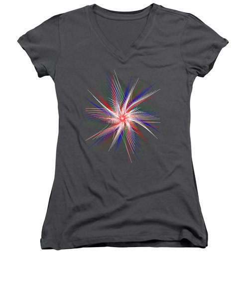 Star In Motion By Kaye Menner Women's V-Neck (Athletic Fit)