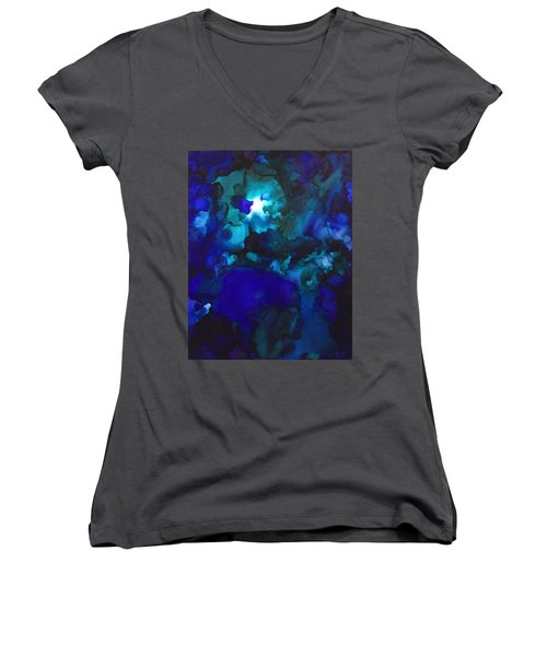 Star Light Women's V-Neck (Athletic Fit)