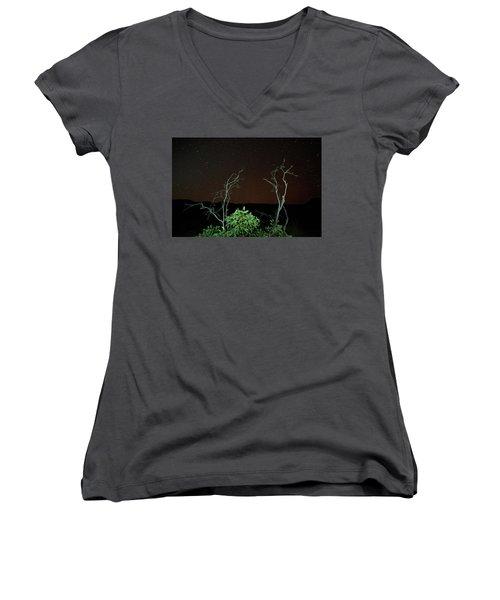 Star Light Star Bright Women's V-Neck T-Shirt