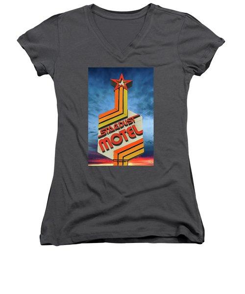 Stardust Women's V-Neck T-Shirt