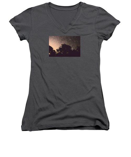 Stars Of La Vernia Women's V-Neck T-Shirt