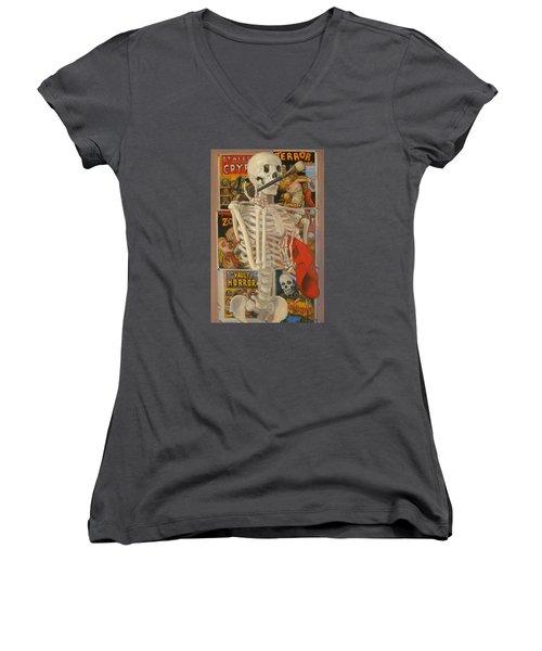 Starving Artist Women's V-Neck T-Shirt