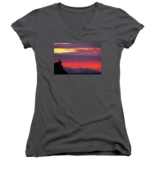 State Of Play Women's V-Neck