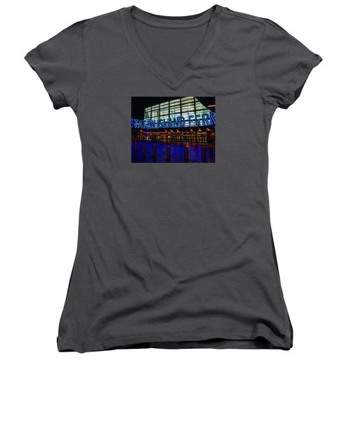 Staten Island Ferry 236 Women's V-Neck T-Shirt