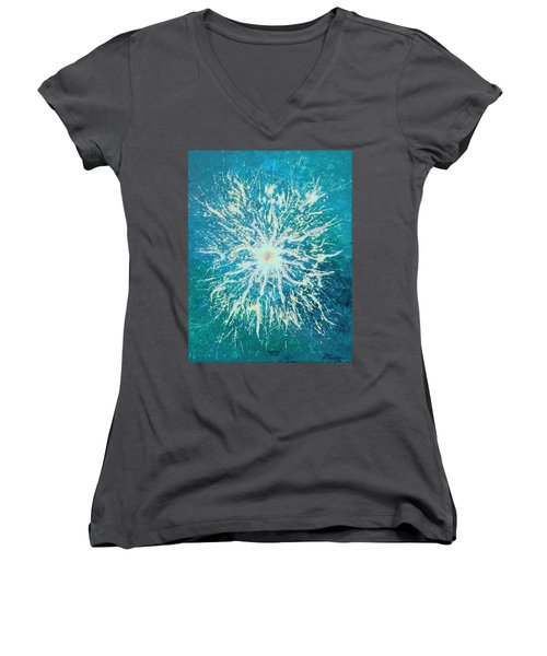 Static Women's V-Neck (Athletic Fit)