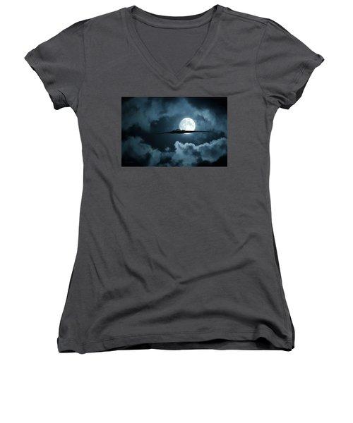 Stealth Women's V-Neck T-Shirt