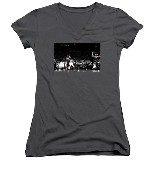 Steph Curry Its Good Women's V-Neck (Athletic Fit)
