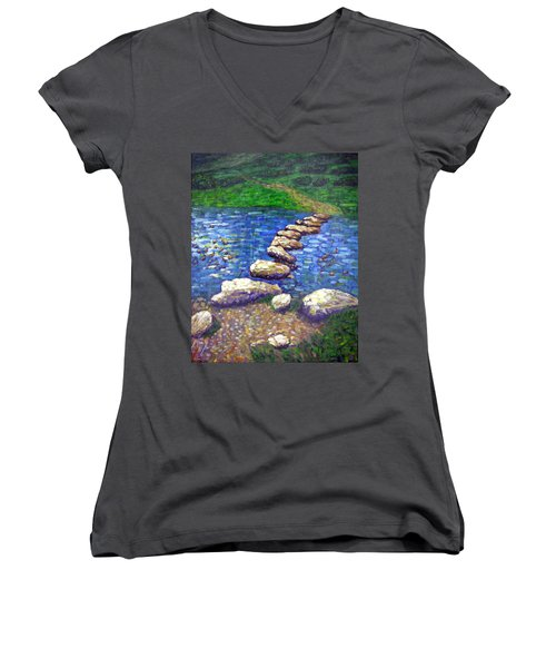Stepping Stones Women's V-Neck