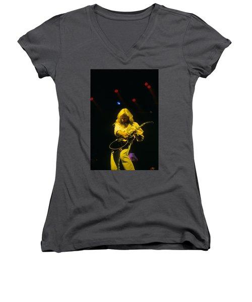 Steve Clark Women's V-Neck T-Shirt