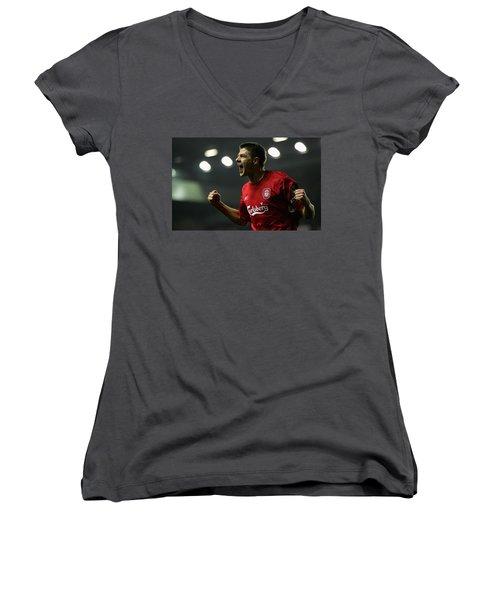Steven Gerrard Women's V-Neck T-Shirt