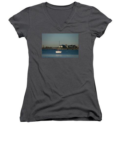Still Boat Women's V-Neck