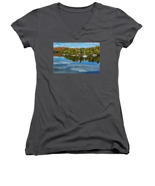 Still Women's V-Neck T-Shirt