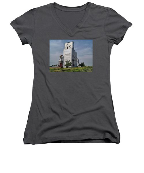 Still Standing Strong Women's V-Neck (Athletic Fit)