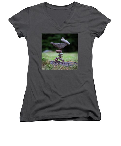 Stone Insect Women's V-Neck (Athletic Fit)