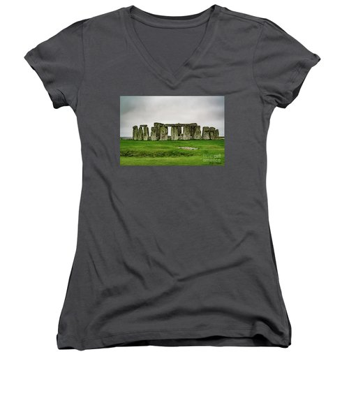 Stonehenge Women's V-Neck (Athletic Fit)