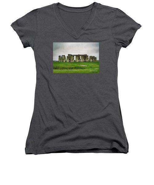 Stonehenge Women's V-Neck (Athletic Fit)
