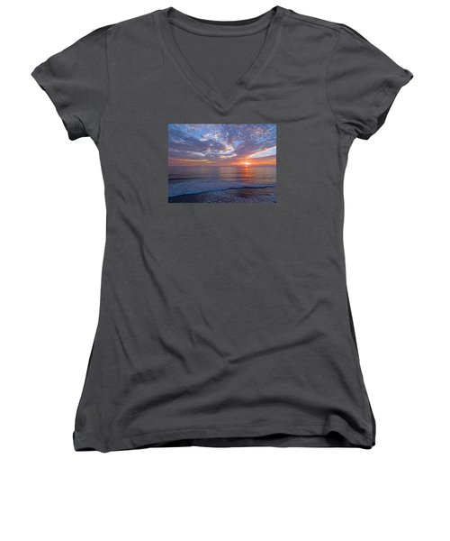 Stop And Think  Women's V-Neck T-Shirt