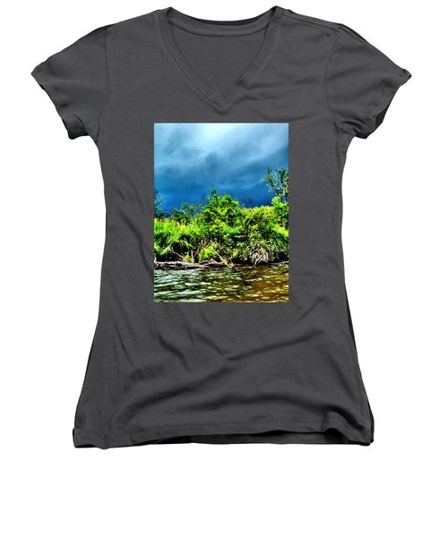 Storms Women's V-Neck (Athletic Fit)