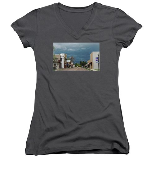 Stormy Weather Women's V-Neck (Athletic Fit)