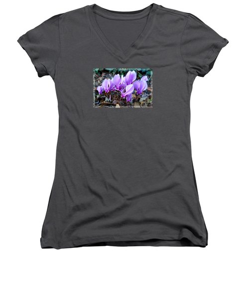 Strange Flower 4 Women's V-Neck