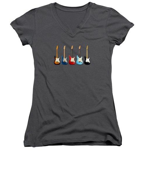 Stratocaster Women's V-Neck T-Shirt