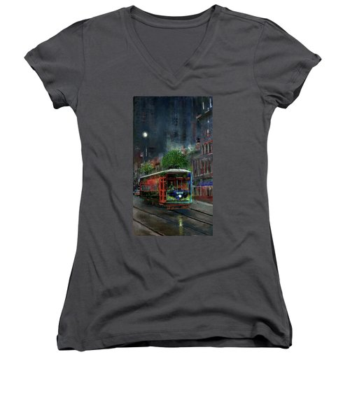 Street Car 905 Women's V-Neck (Athletic Fit)