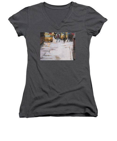 Street Wise Women's V-Neck T-Shirt