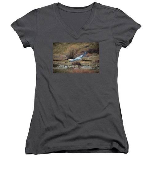 Stretched Wide Open Women's V-Neck