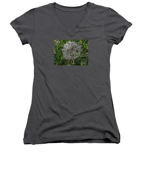 String Theory Dandelion Women's V-Neck T-Shirt