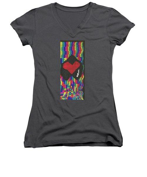 Suffering Women's V-Neck T-Shirt