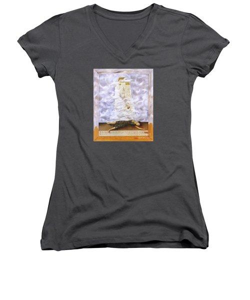 Suicide Of Dorothy Hale Women's V-Neck T-Shirt
