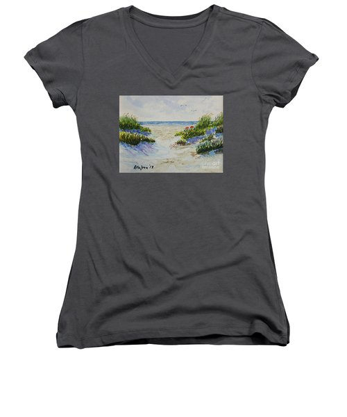 Summer Beach Women's V-Neck