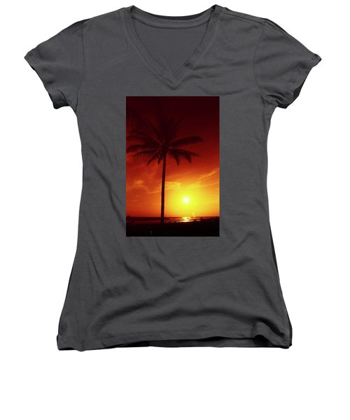 Summer By The Sea Women's V-Neck (Athletic Fit)