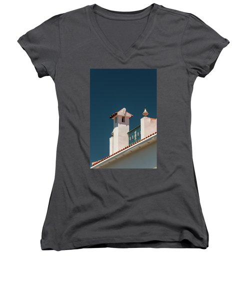 Summer Women's V-Neck