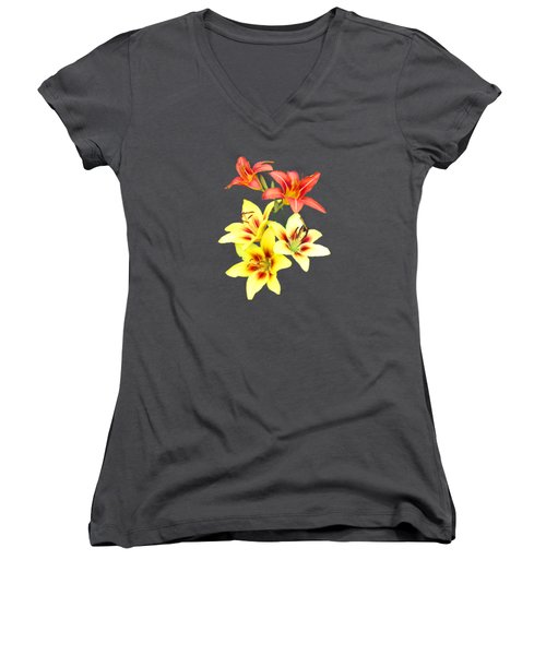Summer I I  Women's V-Neck T-Shirt