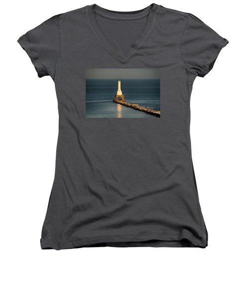 Summer Lighthouse Women's V-Neck