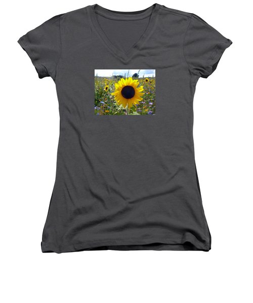 Summer Meadow Women's V-Neck