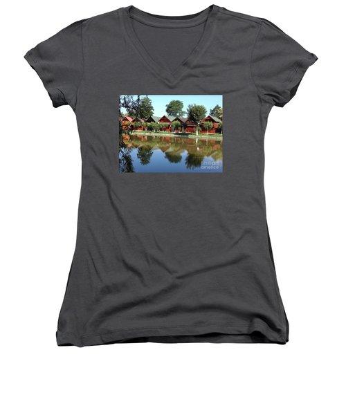 Summer Reflections  Women's V-Neck T-Shirt