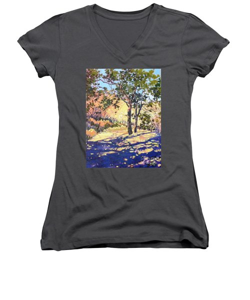 Summer Shadow Women's V-Neck (Athletic Fit)