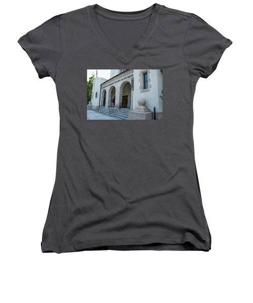 Summerall Chapel II Women's V-Neck (Athletic Fit)