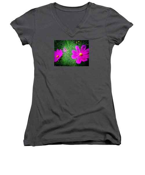 Sun-drenched Women's V-Neck T-Shirt