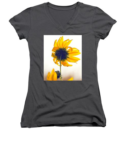 Sun Flower 101 Women's V-Neck (Athletic Fit)