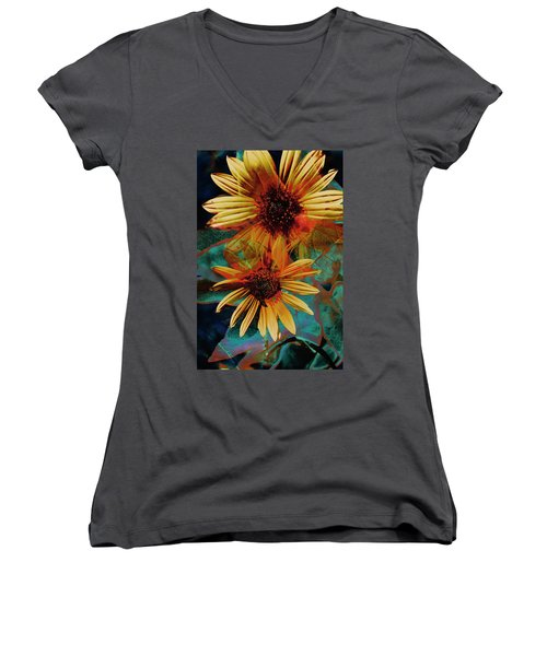 Sun Godess Women's V-Neck (Athletic Fit)