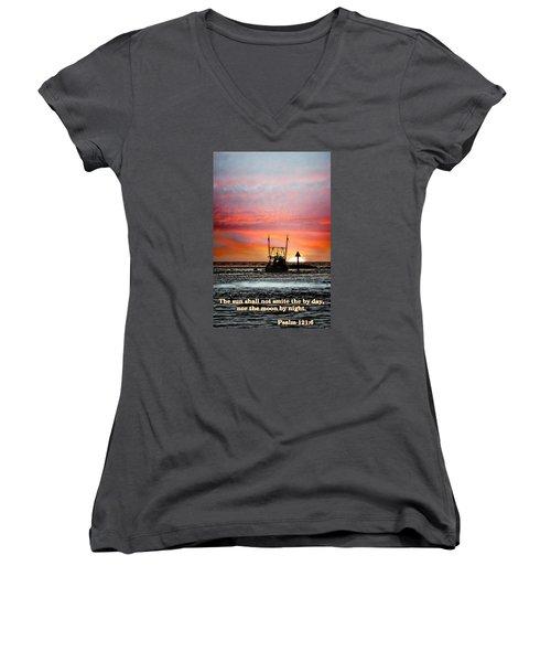 Sun Nor Moon Women's V-Neck T-Shirt