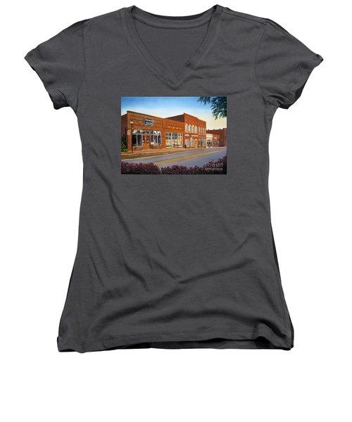 Sunday In Waxhaw Women's V-Neck T-Shirt
