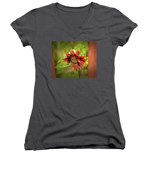Sunflower #g5 Women's V-Neck