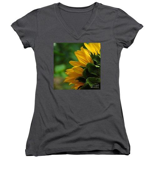 Sunflower Series I Women's V-Neck