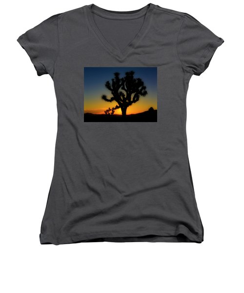 Sunrise At Joshua Women's V-Neck
