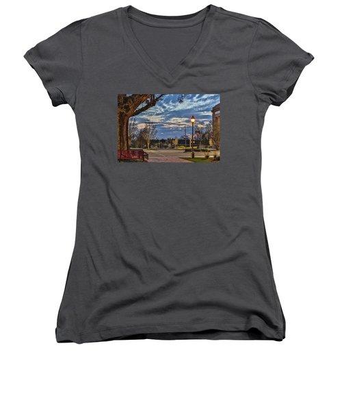 Sunset Square Women's V-Neck T-Shirt