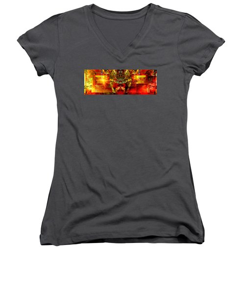 Sunshine.. Women's V-Neck (Athletic Fit)